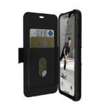 "Urban Armor Gear 111716114040 mobile phone case 15.5 cm (6.1"") Flip case Black"