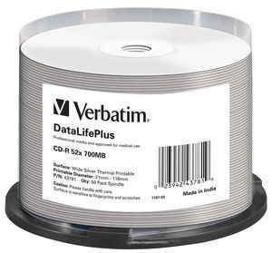 Verbatim DataLifePlus CD-R 700 MB 50 pc(s)