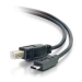 C2G USB 2.0, C - Standard B, 1m cable USB USB C USB B Negro