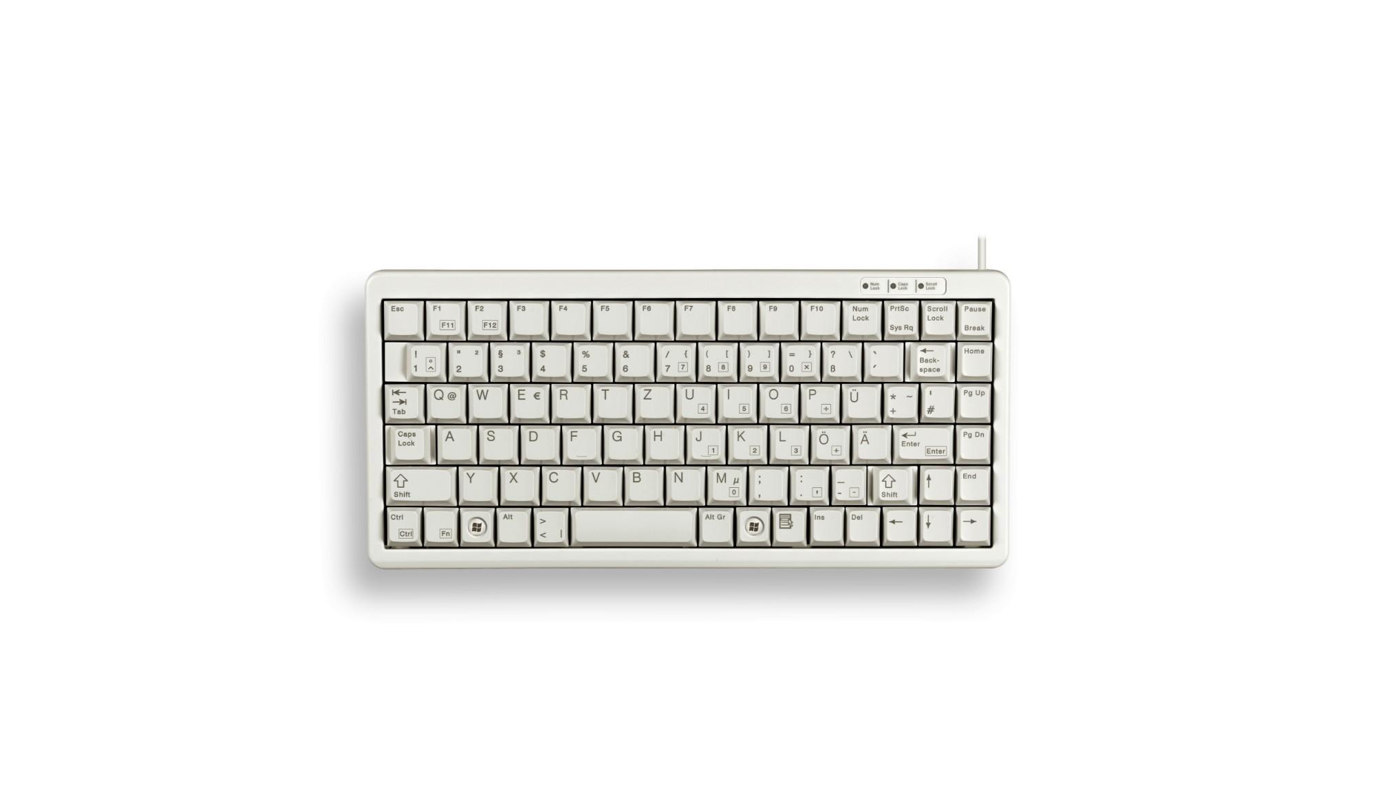 Cherry G84-4100 USB QWERTY Pan Nordic Grey