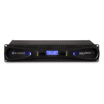 Crown XLS 2002 audio amplifier 2.0 channels Black