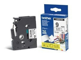 Brother TZe-221 cinta para impresora de etiquetas Negro sobre blanco