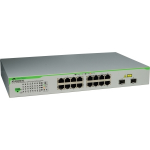 Allied Telesis AT-GS950/16PS-50 Gigabit Ethernet (10/100/1000) Grey Power over Ethernet (PoE)