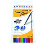 Bic Velleda 1721 Whiteboard Marker Fine Assorted (8 Pack) 1199005728