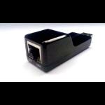 Zebra WA4070 tussenstuk voor kabels USB A RJ-45 Zwart