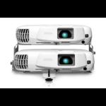 Epson PowerLite W16SK 3000ANSI lumens 3LCD WXGA (1280x800) 3D compatibility Portable projector White