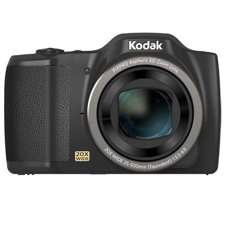 """Kodak PIXPRO FZ201 Compact camera 16 MP 1/2.3"""" CCD 4608 x 3456 pixels Black"""