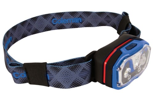 Coleman CXS+ 250 LED Headband flashlight LED Black,Blue,Grey