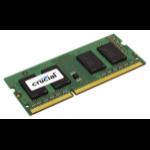 Crucial 4GB DDR3-1066 SO-DIMM CL7 4GB DDR3 1066MHz memory module