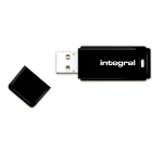 Integral INFD8GBBLK USB flash drive 8 GB USB Type-A 2.0 Black