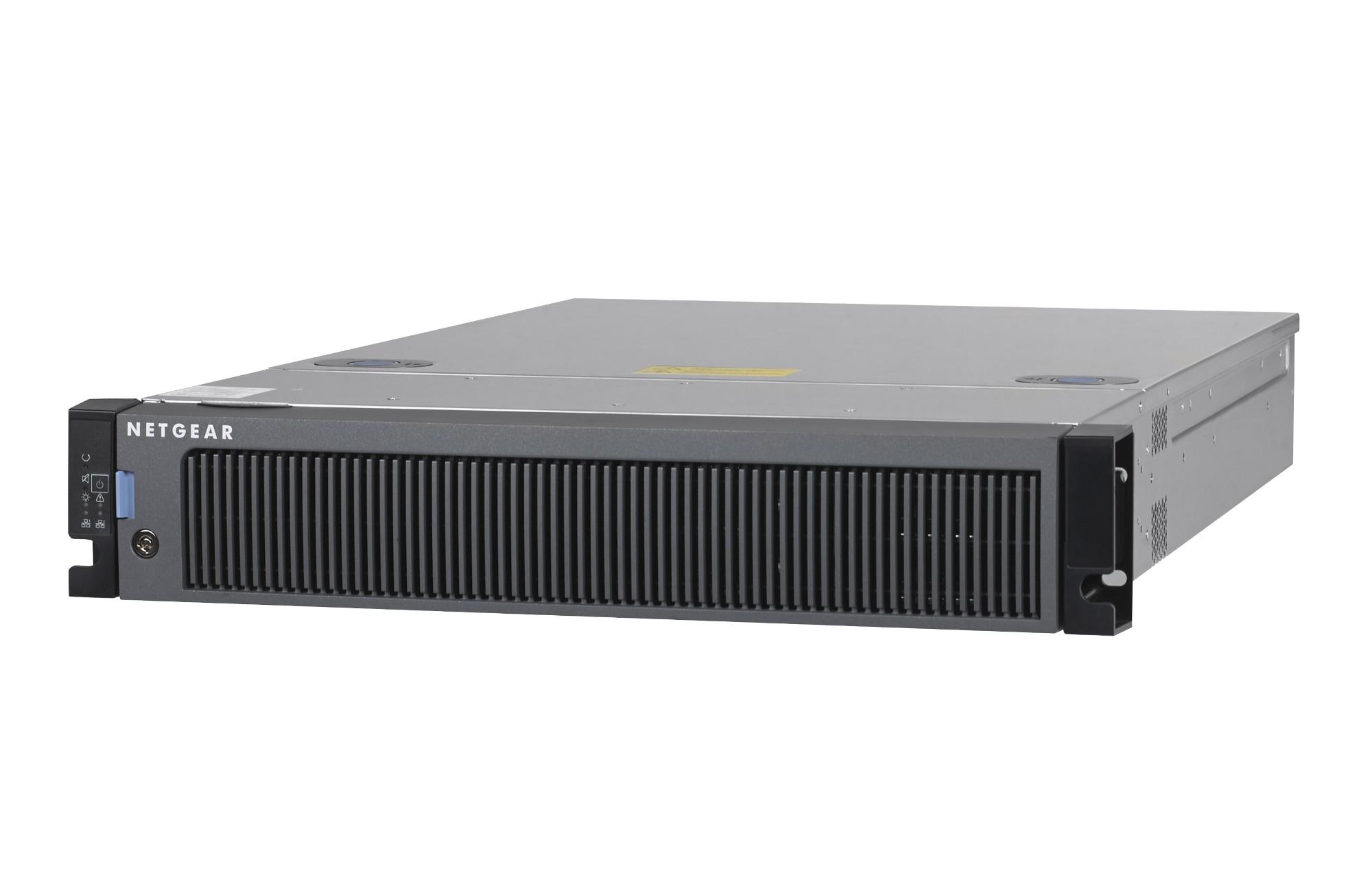 Netgear ReadyNAS 4312S E3-1245V5 Ethernet Bastidor (2U) Negro NAS
