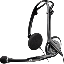 Plantronics .Audio 400 DSP Binaural Head-band Black headset