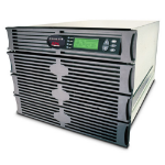 APC Symmetra RM 6kVA exp to 6kVA N+1 6000VA Black uninterruptible power supply (UPS)