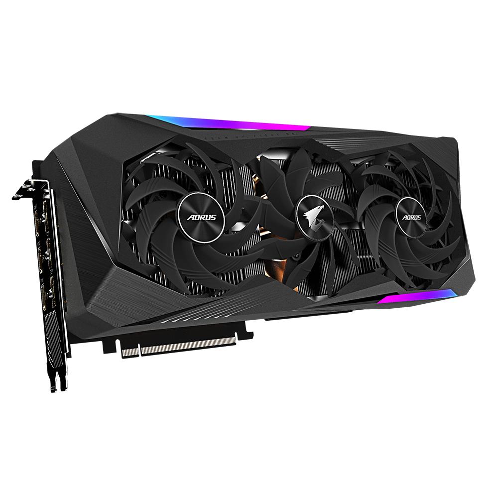 Gigabyte GV-N307TAORUS M-8GD graphics card NVIDIA GeForce RTX 3070 Ti 8 GB GDDR6X