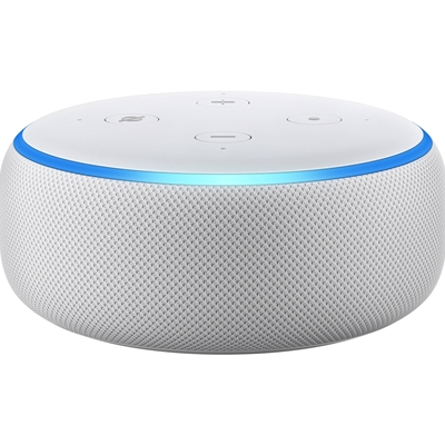 AMAZON All-new Echo Dot (3rd Gen) Smart speaker with Alexa Sandstone Fabric