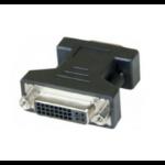Hypertec 581461-HY cable gender changer VGA DVI-I Black