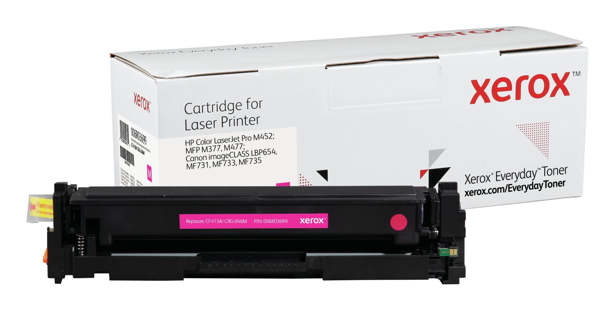 Xerox Tóner de Rendimiento estándar Magenta Everyday, HP CF413A/ CRG-046M equivalente de , 2300 páginas