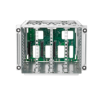 Hewlett Packard Enterprise 874571-B21 power supply enclosure Power supply cage kit Aluminum Metal