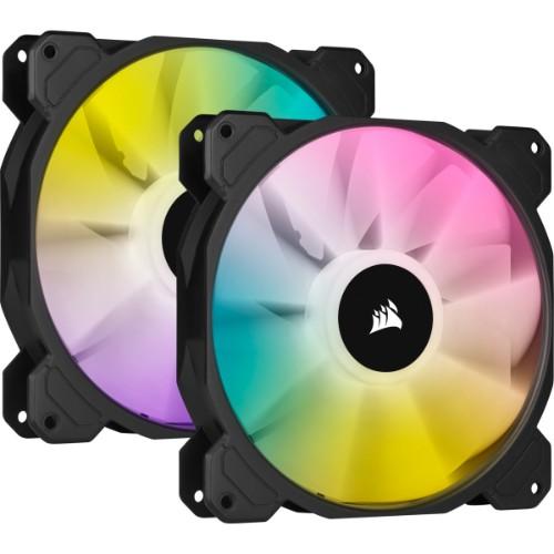 Corsair SP140 RGB ELITE Computer case Fan 14 cm Black 2 pc(s)