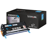 Lexmark X560H2CG Toner cyan, 10K pages