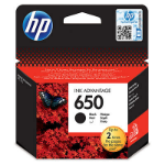 HP CZ101AE (650) Printhead cartridge black, 360 pages, 14ml
