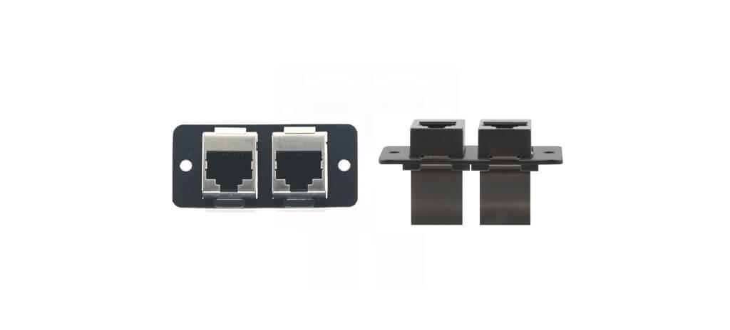 Kramer Electronics W4545(B) wall plate/switch cover Black