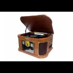 Sunstech PXRC52CD Tocadiscos de tracción directa Madera