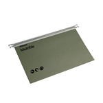 Rexel Multifile A4 Suspension File 15mm Green (50)