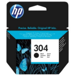 HP N9K06AE (304) Printhead black, 100 pages @ 5% coverage, 4ml
