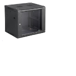 Microconnect CABINET6 rack cabinet 12U Wall mounted rack Black