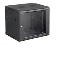 Microconnect CABINET6 rack cabinet 12U Wall mounted rack Black