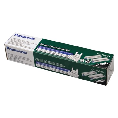Panasonic KX-FA54X Thermal-transfer-roll, 105 pages, Pack qty 2