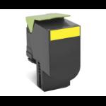 Lexmark 70C20Y0 (702Y) Toner yellow, 1000 pages