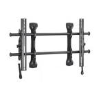 Chief FUSION Flat Panel Micro-Adjustable Tilt Wall Mount Black