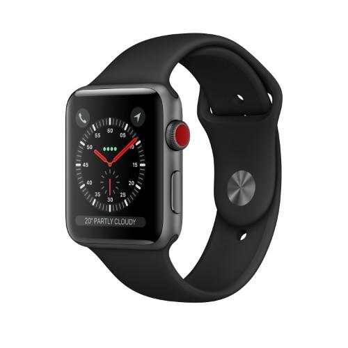 Apple Watch Series 3 smartwatch Grey OLED Cellular GPS (satellite)