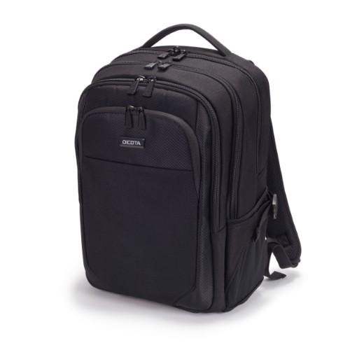 Dicota Performer backpack Polyethylene terephthalate (PET) Black