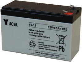 Yuasa Sealed Lead Acid Battery 12V 9Ah