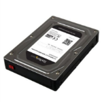 "StarTech.com 25SAT35HDD drive bay panel 3.5"" Storage drive tray Black, Silver"