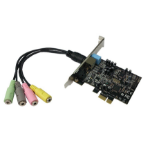 Siig IC-510211-S1 audio card Internal 5.1 channels PCI-E
