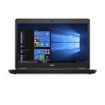 """DELL Latitude 5480 2.60GHz i5-7300U 14"""" 1920 x 1080pixels Black Notebook"""