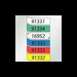 DYMO 91333 printer label Red