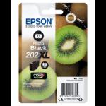 Epson Kiwi Singlepack Photo Black 202XL Claria Premium Ink