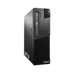 T1A Lenovo ThinkCentre M83 Refurbished 4th gen Intel® Core™ i3 i3-4130 4 GB DDR3-SDRAM 240 GB SSD SFF Black PC Windows 10 Pro