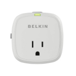 Belkin F7C009Q socket-outlet Green,White