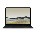 "Microsoft Surface Laptop 3 Notebook 34.3 cm (13.5"") 2256 x 1504 pixels Touchscreen 10th gen Intel® Core™ i5 8 GB LPDDR4x-SDRAM 256 GB SSD Wi-Fi 6 (802.11ax) Windows 10 Pro Black"