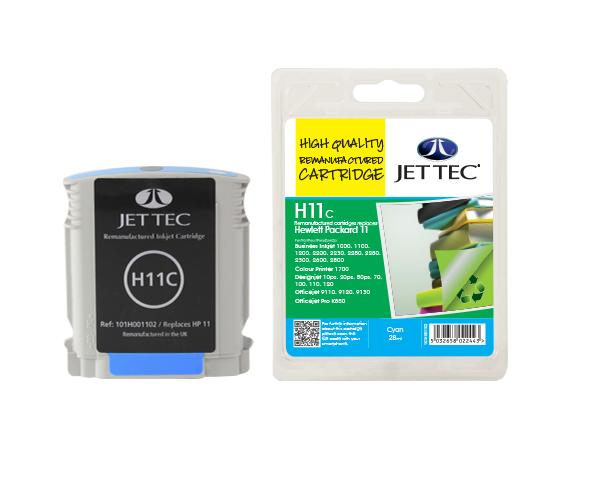 Jet Tec H11C Cyan ink cartridge