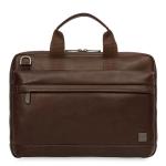 "Knomo 45-201-BRW notebook case 35.6 cm (14"") Briefcase Brown"