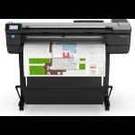 HP Designjet T830 Grossformatdrucker Wi-Fi Thermal Inkjet Farbe 2400 x 1200 DPI A0 (841 x 1189 mm) Eingebauter Ethernet-Anschluss