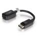 C2G 20cm DisplayPort M / HDMI F 0,2 m Negro