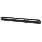 Tripp Lite 24-Port Cat6/Cat5 110 Patch Panel, 568B, RJ45 Ethernet, 1U Rack-Mount, TAA